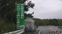高江のテント